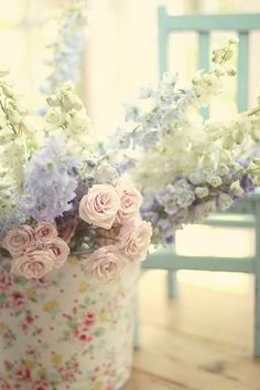 Untitled | via Flickr by luciaandmapp #flowers #photography #pastel