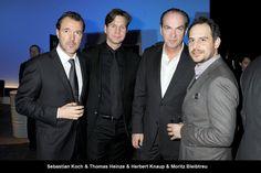 Sebastian Koch, Thomas Heinze, Herbert Knaup and Moritz Bleibtreu