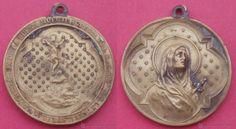 Medalla Dolorosa Congregación Buena Muerte Iglesia S. C. de Jesús. San Sebastián. Donostia