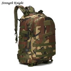 3D Military Army Backpack Multifunction Camouflage Backpacks Large-capacity  Men Bag High Quality School Bag 18d25c6f81827