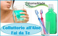 Colluttorio all'Aloe Fai da Te - Mouthwash DIY