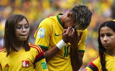 Neymar - World Cup 2014: Brazil manager Luiz Felipe Scolari asks psychologist to help his players cope