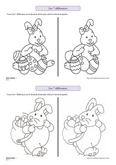 Psalm Find The Difference Printable
