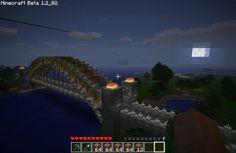 Minecraft Bridge Minecraft P, Minecraft Bridges, Minecraft Creations, Minecraft Buildings, Pool Porch, Gardening Courses, Gardening Hacks, Hydroponic Gardening, Gardening Magazines