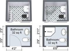 Elegant Small Bathroom Layouts 10 Small Bathroom Ideas That Work Roomsketcher Blog