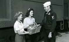 The North Platte Canteen was one of the largest volunteer efforts of World War II. View our online museum exhibit to learn more about the massive volunteer efforts to take care of America's soldiers during the war. North Platte Nebraska, Library Events, Navy Chief, By Train, Canteen, Why People, American Pride, Where The Heart Is, World War Ii