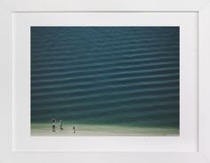 Four People On The Beach by Andy Mars at minted.com