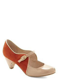 How's About It Heel in Orange, by Chelsea Crew