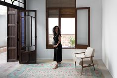 Gallery of Rehabilitation of Two Dwellings in El Cabanyal / Lola Bataller + Noelia Falcón - 12 Wall And Floor Tiles, Other Rooms, Ground Floor, Kitchen Design, Living Spaces, Interior, House, Furniture, Gallery