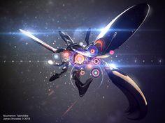 Noumenon: Nanolobe by GrungeTV.deviantart.com on @deviantART