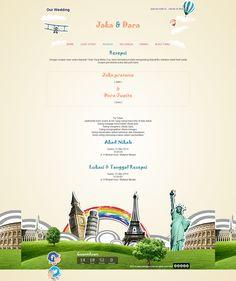 Datangya Com Undangan Pernikahan Online Datangya Di Pinterest