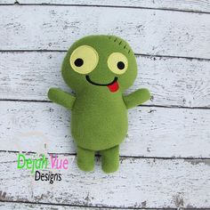 Zombie Stuffie ITH Embroidery Design