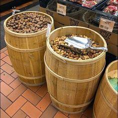 Bulk Barrel Nut Staging Hand Scoop Included