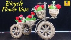 Jute Crafts, Recycled Crafts, Craft Stick Crafts, Handmade Crafts, Decor Crafts, Jute Flowers, Nylon Flowers, Paper Flowers, Flower Vases