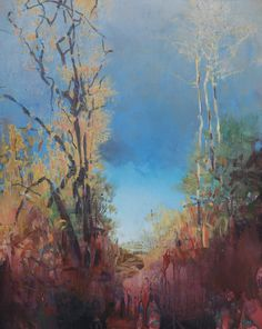 Painter's Process - Randall David Tipton: The Opening Sky Impressionist Landscape, Watercolor Landscape, Abstract Landscape, Old Friendships, Paid Sick Leave, Art Beat, Wet And Dry, Beautiful Landscapes, Art Inspo