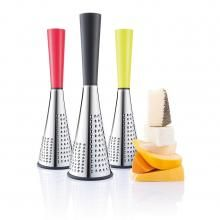 Spire cheese grater brings fresh parmesan cheese directly onto your plate. The tall grater can easily be held in your hand or put onto the table. Cheese Grater, Kitchen Accessories, Home And Living, House Design, Design Products, Product Design, Queso, Parmesan, Gadgets