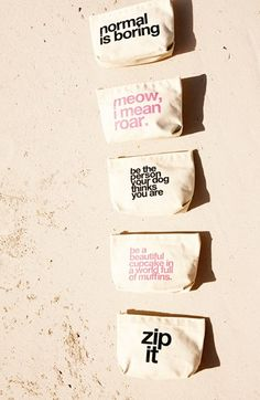How awesome are these bags - great gifts!