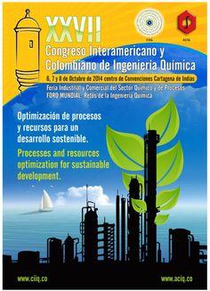 XXVII Congreso Interamericano y Colombiano de Ingeniería Química. #Unicartagena #IngenieríaQuímica