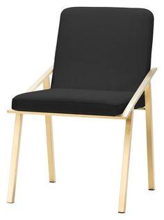 Nuevo Modern HGTB445 Dining Chair in Black