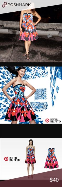 Peter Pilotto for Target Dress HP ❤️❤️ Beautiful Peter Pilotto Dress for Target. Worn once for Valentine's Day. The dress is in perfect condition. The dress is a size 8 but I think it fits like a 6/8 . PRICE NEGOTIABLE  NO LOW BALLS ❌ Peter Pilotto for Target Dresses Strapless