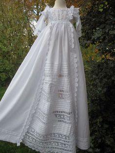 Ethel Christening Gown :: Little Doves Christening Wear
