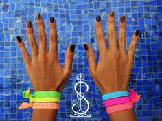 """Summer Simbi NEONS. They are """"cool"""" for a hot hot summer. Now available in stores & @ www.simbihaiti.com. Be one of the first trendsetters!"""
