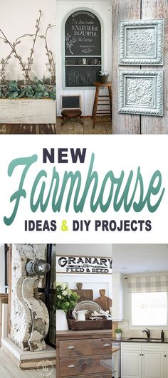 Love this time of the week! This is when we share some brand new Farmhouse Ideas…