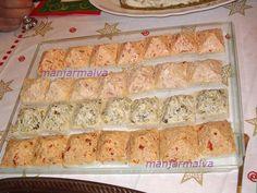 Pastas para Sándwich o Canapés 1º Pasta Huevo y Jamón York Ingredientes: 6 Huevos cocidos 400grs. de Jamón York 1 Tarro de mayonesa H...