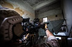 U.S. Navy SEALs training with Greek Special Forces during Sarisa 16 an annual Greek exercise.