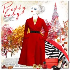 How To Wear Autumn in Paris Outfit Idea 2017 - Fashion Trends Ready To Wear For Plus Size, Curvy Women Over 20, 30, 40, 50