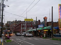 Queen Anne Ave #seattle #queenanne #uptown up the street from my work! Love cafe mecca
