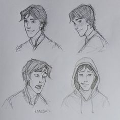I tried to draw Kai and practice some expressions ^^