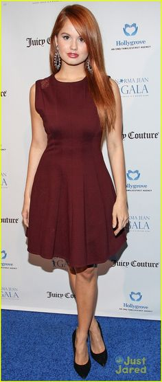 Debby Ryan. One of my favorite gingers! An Irish girl in a beautiful dress. WWW.adealwithGodbook.com