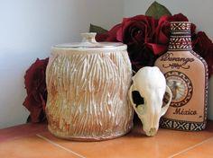Ceramic Container, Ceramic Jar, Ceramic Canister, Handmade, Wheel Thrown, Stoneware, Food Safe, High Fired. Kitchenware, Kitchen Storage
