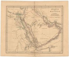 Ancient Arabia and Egypt 1849
