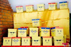 Ideas fiesta de cumpleaños de Lego City   Foto 19 de 28   Catch My Party