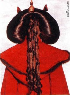 Queen Amidala – Red Invasion / Theed Throne Room Robe – Analysis – Naergi's Costuming Site