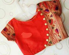 New Saree Blouse Designs, Blouse Designs High Neck, Blouse Designs Catalogue, Simple Blouse Designs, Stylish Blouse Design, Bridal Blouse Designs, Designer Blouse Patterns, Shimla, Blouse Neck