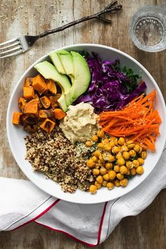 Big vegan bowl recipe