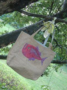 hatchet fish bag by Ann Lilley