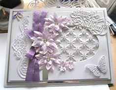 Heartfelt Creations card for a lovely friend on her 70th birthday