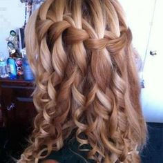 I found 'Gorgeous Blonde Curls and Braids' on Wish, check it out!