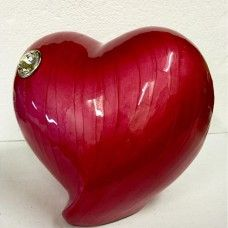 Red Heart Adult Urn