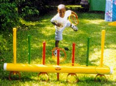 back yard games - would be a nice recess alternative for those boys who just can't stop their 'character' play