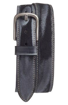 Free shipping and returns on Torino Belts Leather Belt at Nordstrom.com. Sanded harness leather adds vintage appeal to an American-made belt with versatile appeal.