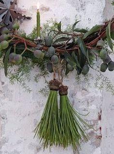 GARDEN STYLE LIVING — pine needle tassles
