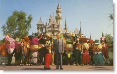 """""""Disneyland is a work of love. We didn't go into Disneyland just with the idea of making money."""""""