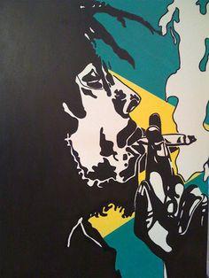 EatExploreLive: Bob Marley's Artwork