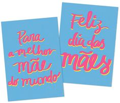 Cartões de dia das mães para download - Amavelmente Irônica