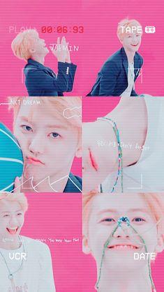 Triple J, Nct Group, Nct Dream Jaemin, I Luv U, Zen, Na Jaemin, Kpop Fanart, Print Magazine, Pink Wallpaper